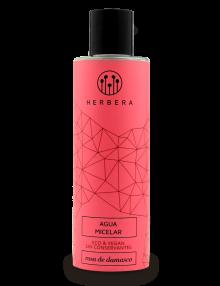 agua micelar orgánica piel sensible