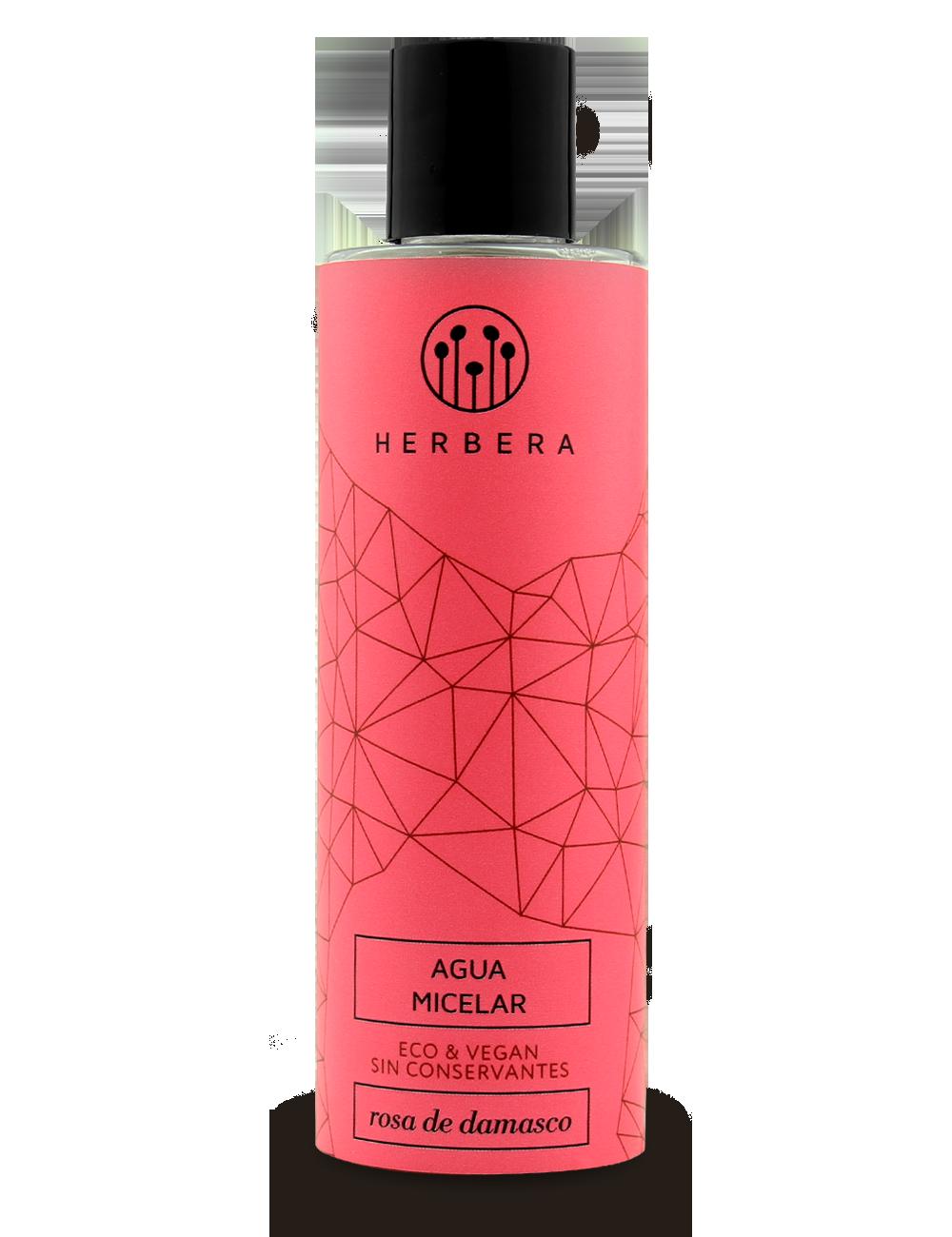 Agua micelar ecológica para piel sensible