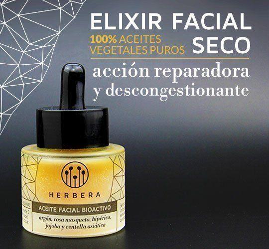 Elixir facial ingredientes naturales