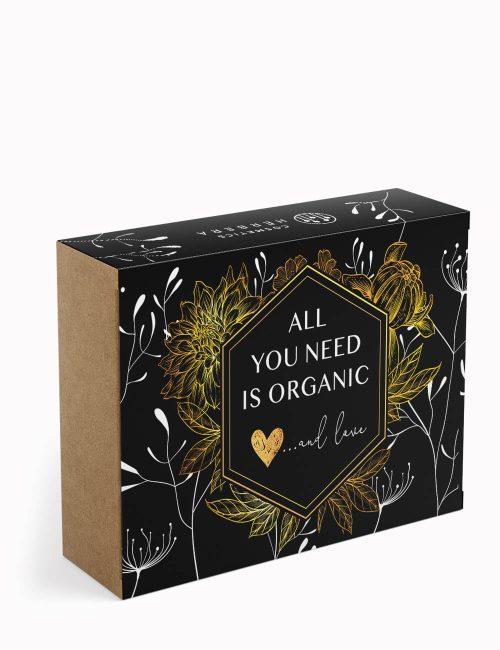 ECOLOVE Caja Regalo de Cosmetics Herbera